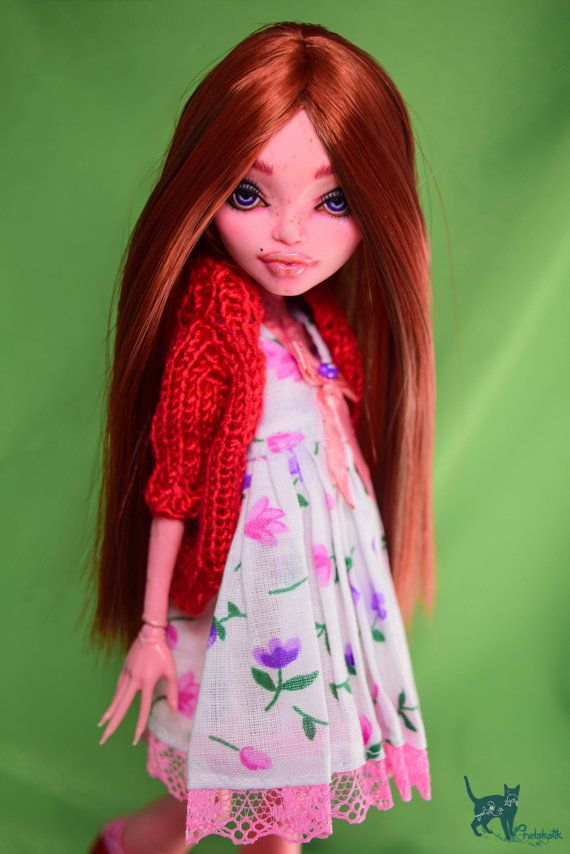 OOAK Monster Repaint Doll Custom GiGi Grant