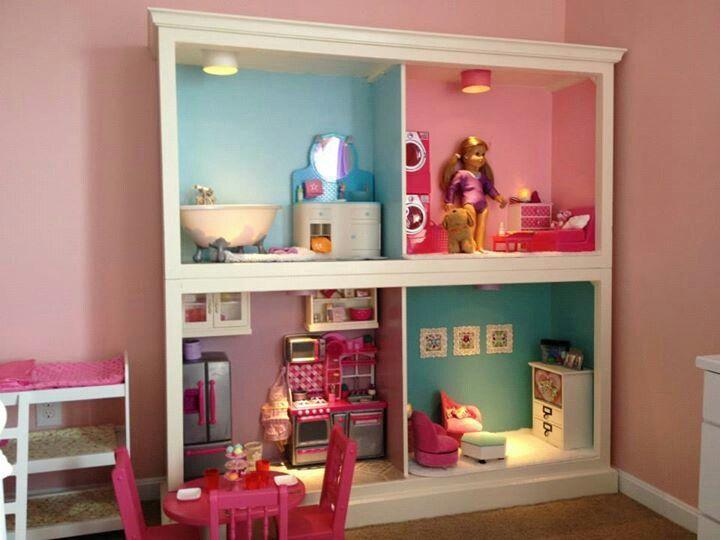 American Girl Doll House Plans American Girl House Savannah
