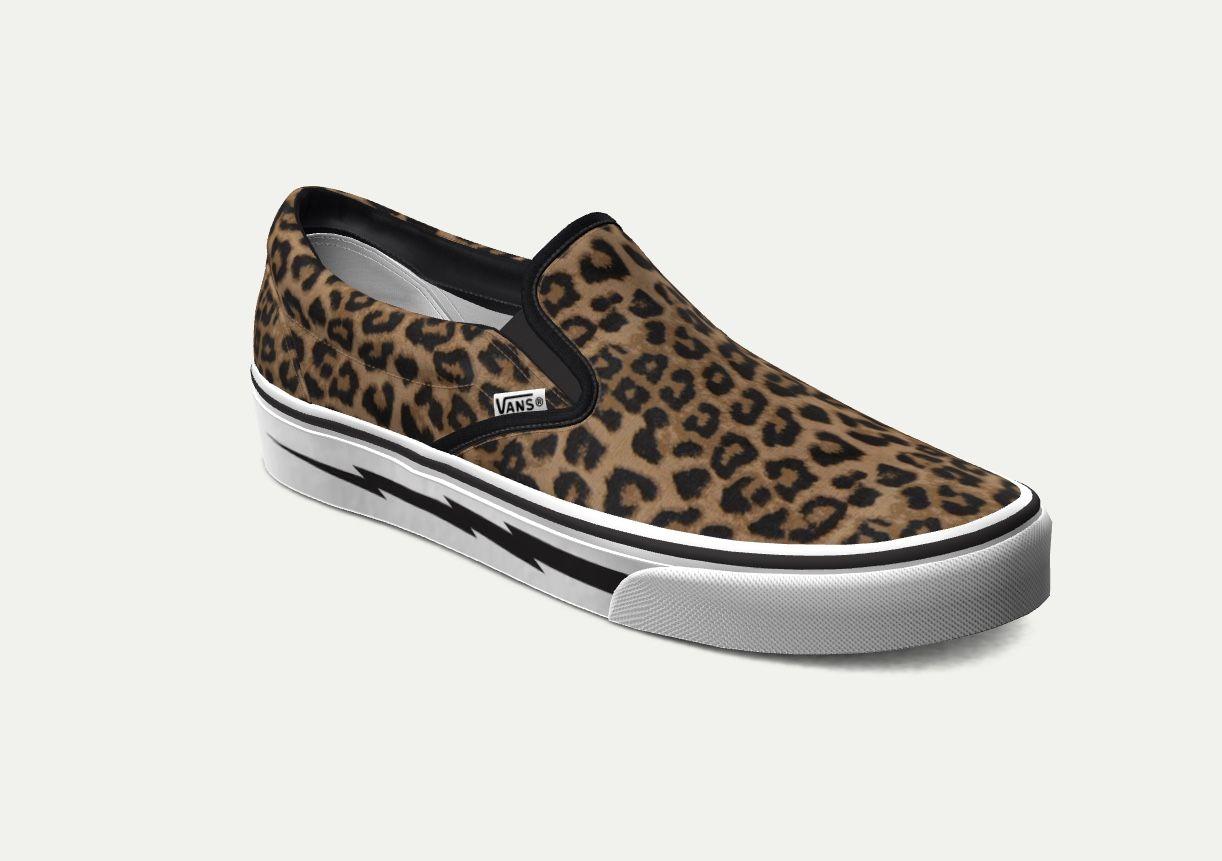 Custom Leopard Vans   Design your own