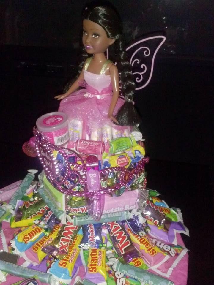Barbie Candy Cake