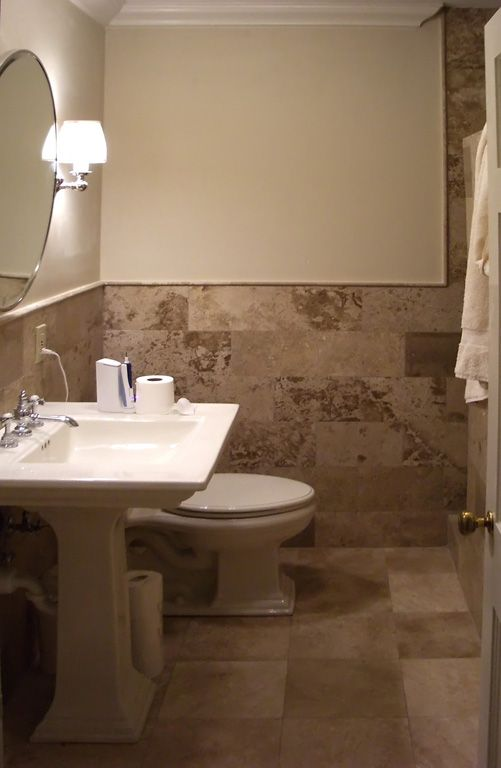 Coordinating Bathroom Floor And Wall Tile : Tiling bathroom walls st louis tile showers