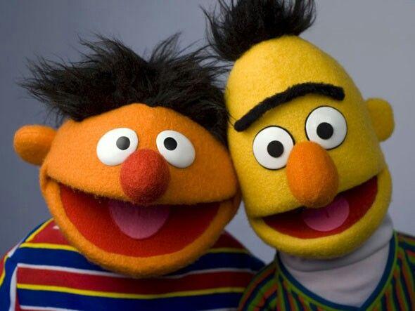 Enrique Y Beto De Plaza Sesamo Sesame Street Muppets The