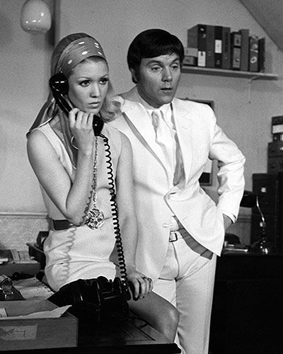 Thanks For Memories Andre >> Annette Andre And Kenneth Cope In Randall And Hopkirk Deceased