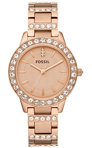 4ce31f0d416e Fossil Jesse Three Hand Stainless Steel Watch in 2019