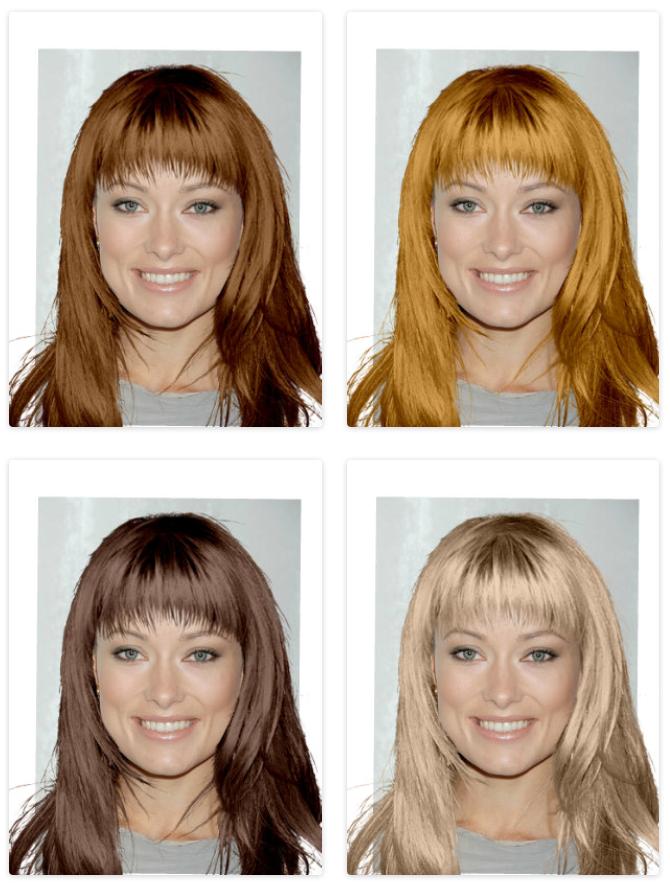 Подобрать цвет волос по цветотипу