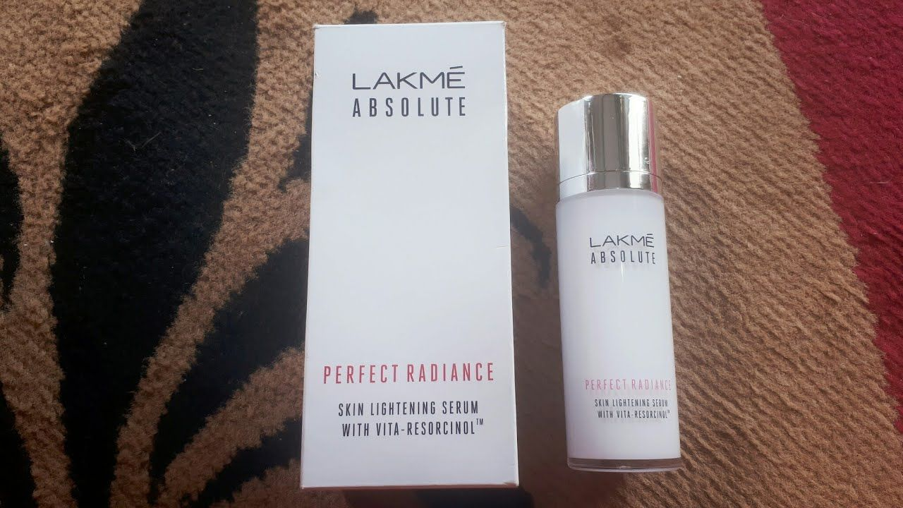 Lakme Absolute Perfect Radiance Serum Beauty Tips Skin Serum