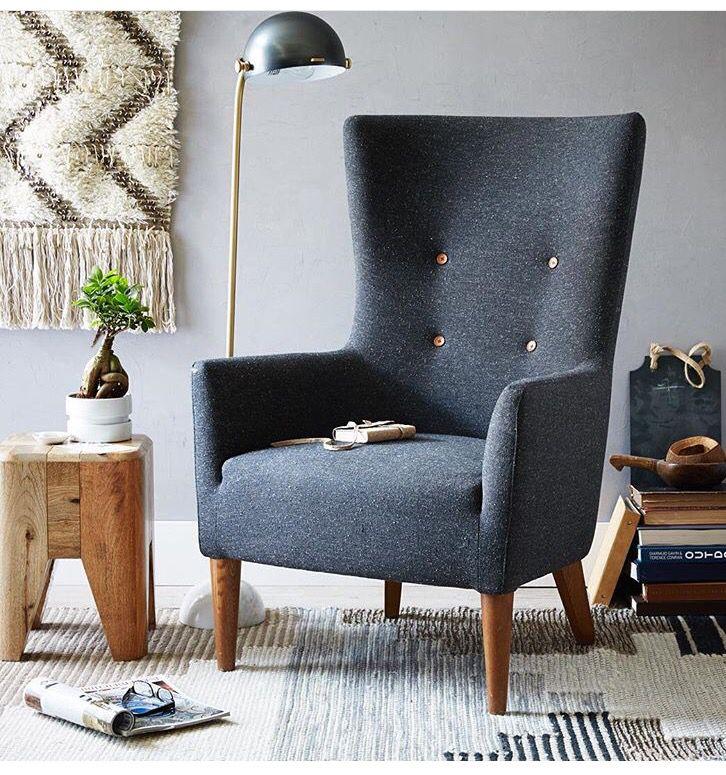 Reading Corner Living Room Chairs Furniture Interior