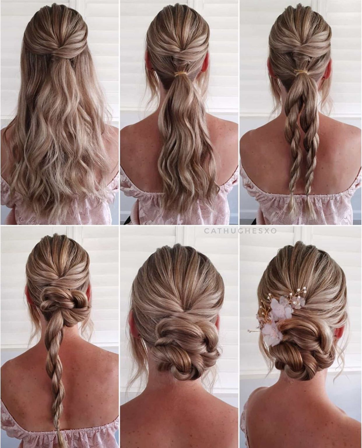 Nice hairdo 😍😍 in 10  Updo hairstyles tutorials, Braided
