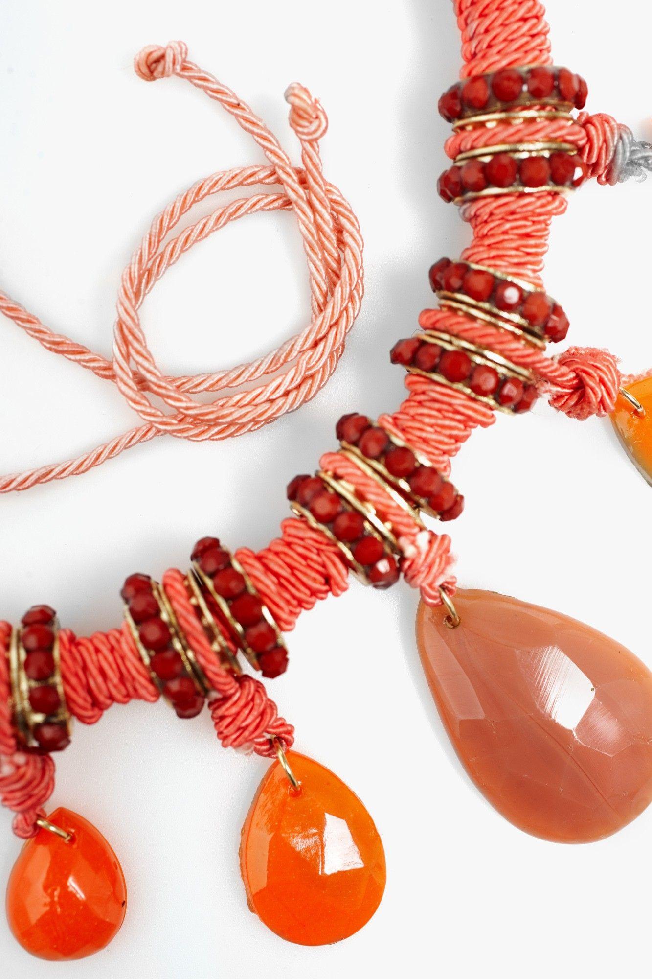 Collar tubular piedras - collares | Adolfo Dominguez shop online