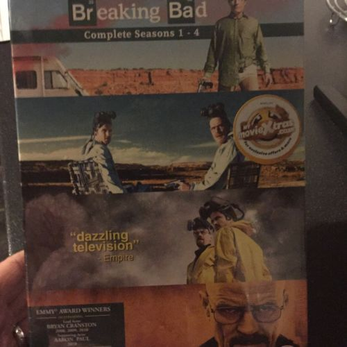 #Breaking bad dvd #series 1-4 new #unopened ,  View more on the LINK: http://www.zeppy.io/product/gb/2/201528875115/