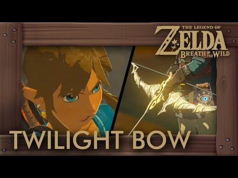 Zelda Breath Of The Wild Twilight Bow Makes Link Crazy Stats How To Get Gameplay Youtube Breath Of The Wild Legend Of Zelda Zelda Breath