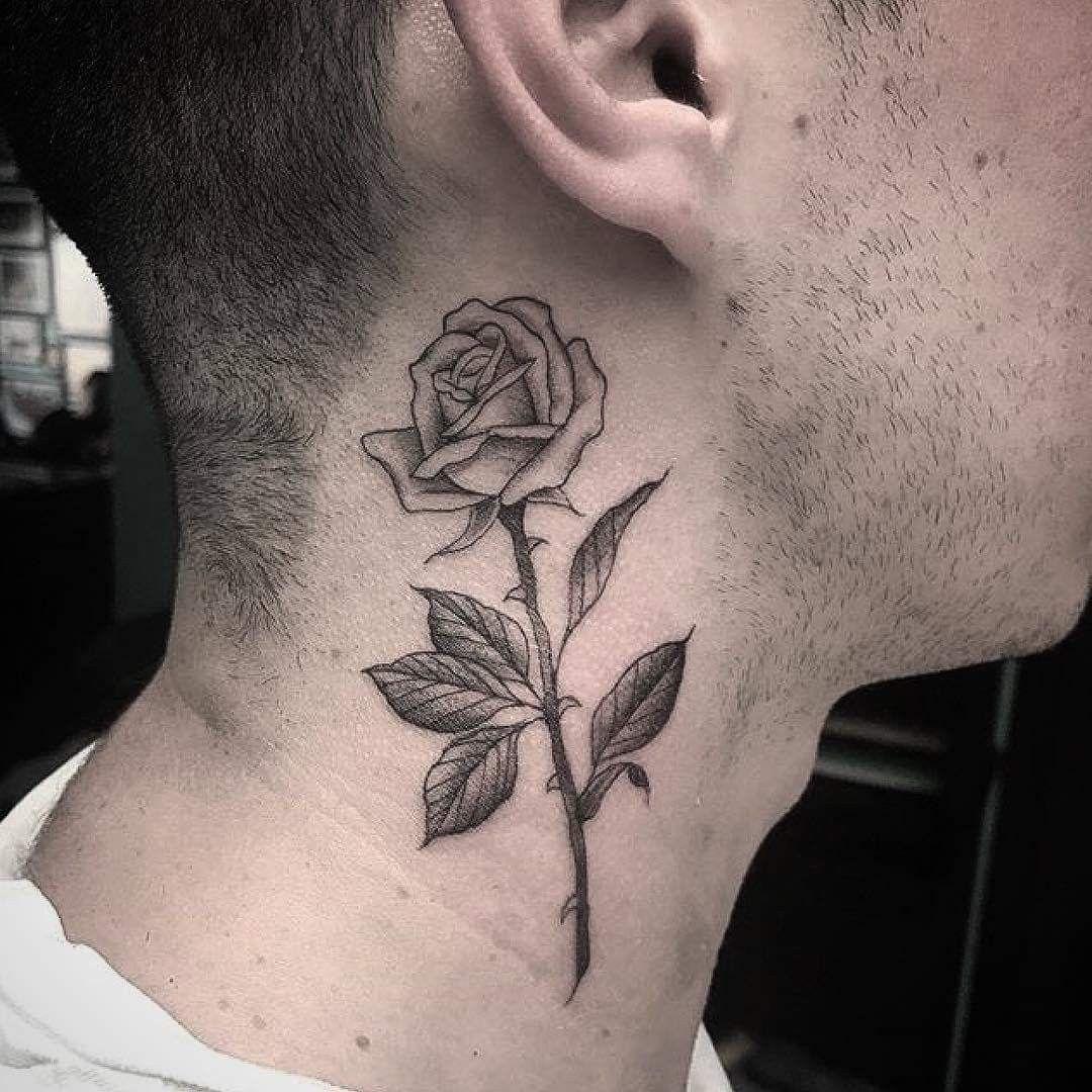 Pin De Samiposajime Em Tatoos 27 Em 2020 Tatuagens De Rosas Para Homens Tatuagem No Pescoco Jovens Tatuados