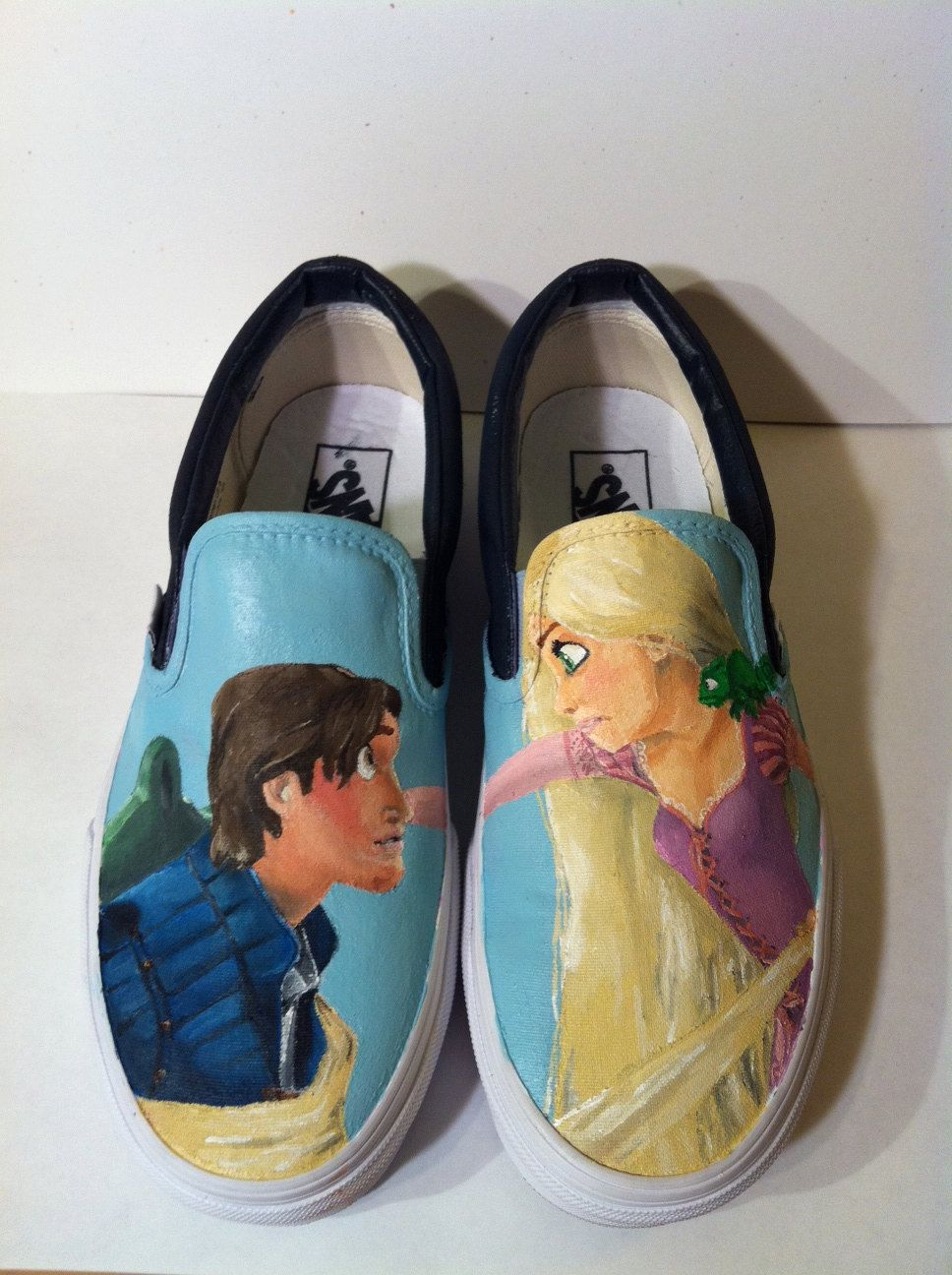 bab6ab1a3ad Hand Painted Disney s Tangled Vans