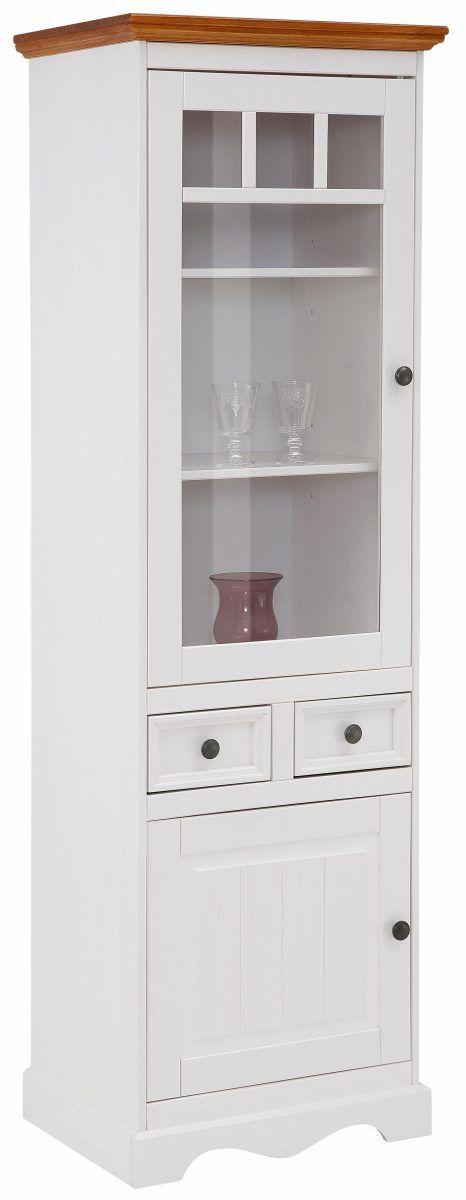 Home affaire Glas-Schrank »Melissa« weiß, FSC®-zertifiziert Jetzt - schrank wohnzimmer weiß
