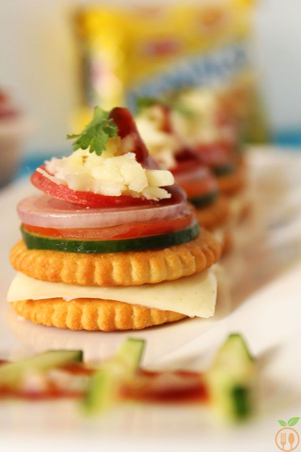 Monaco Biscuit Canapes Monaco Biscuit Toppings Recipe