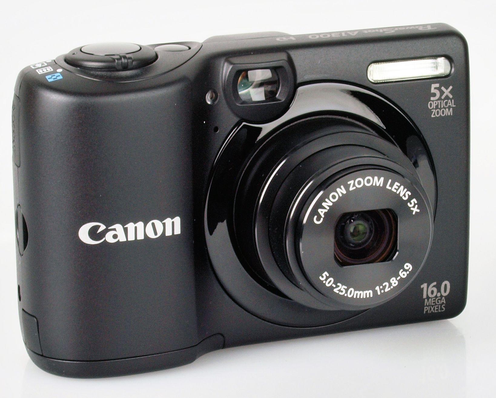Canon Digital Camera Reviews | Canon PowerShot A1300 Digital ...