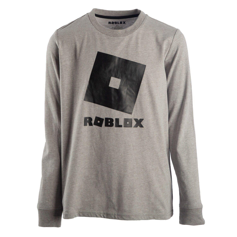 Boys 8 20 Roblox Logo Tee Long Sleeve Tshirt Men Shirts Long Sleeve [ 1500 x 1500 Pixel ]