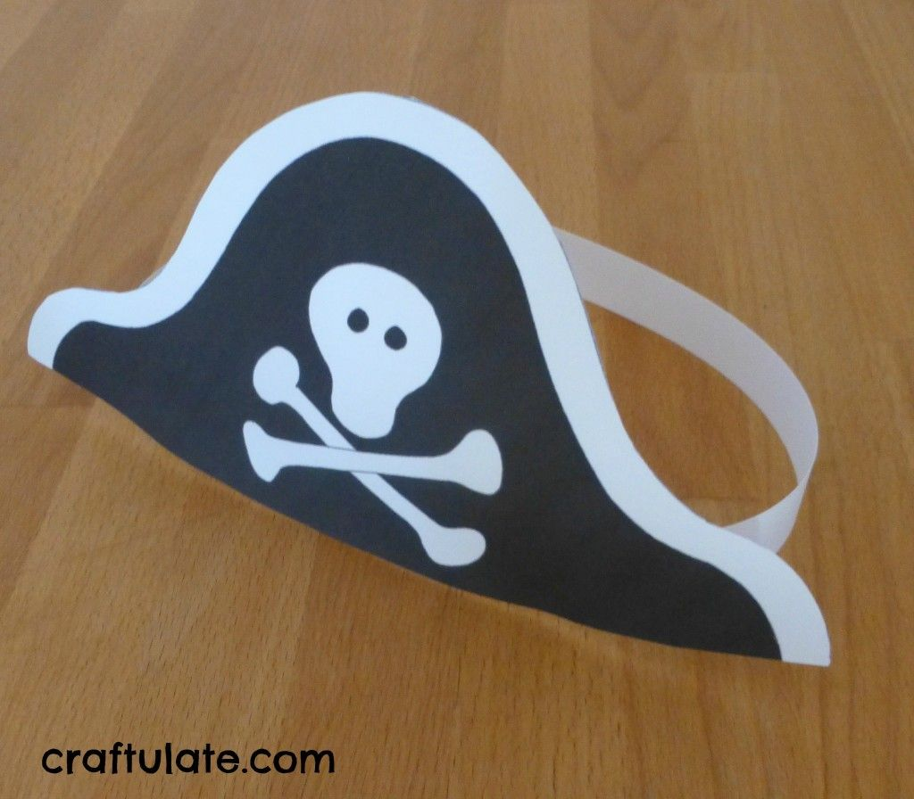 Pirate crafts for toddlers - Pirate Galleon Craft And Other Pirate Activities Craftulate