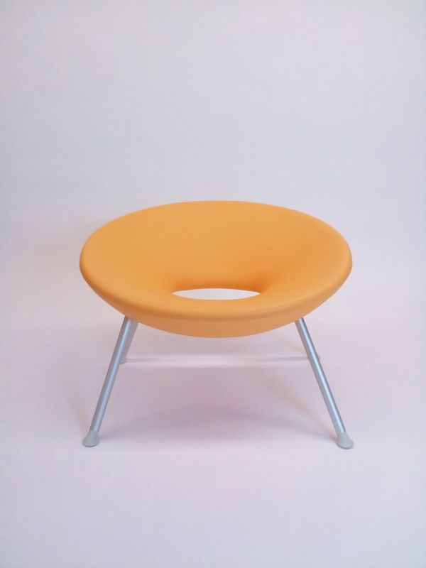 White Leather Sofa Original tangerine Ploof chair by Philippe Starck for Kartell tangerine sofa also available
