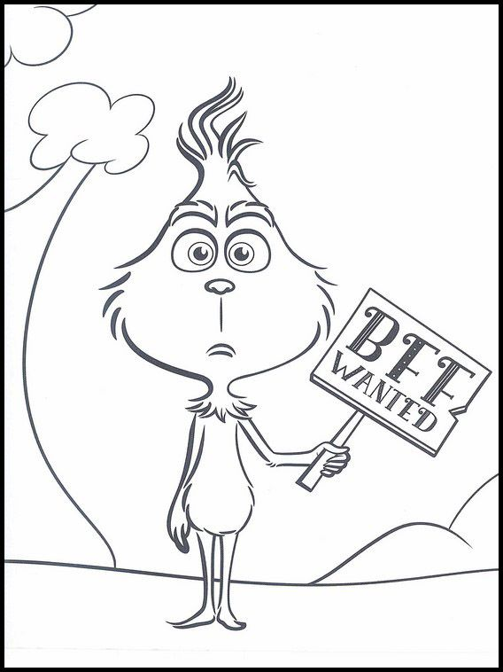 The Grinch 17 Printable Coloring Pages For Kids Grinch Coloring Pages Christmas Coloring Pages Cartoon Coloring Pages