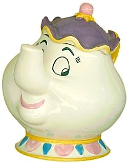 Disney Mrs Potts Cookie Jar Beauty And The Beast Collectibles