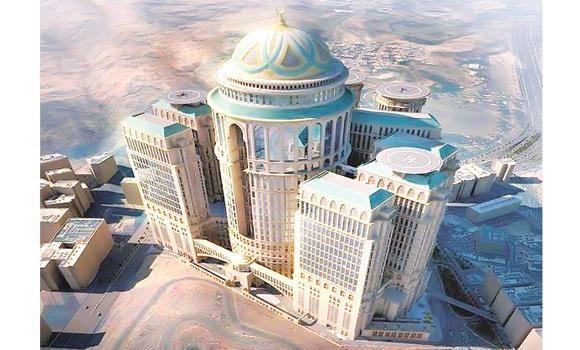 أكبر و أضخم فندق في العالم ستحتضنه مكة المكرمة المرأة ارابيا Mecca Hotel World