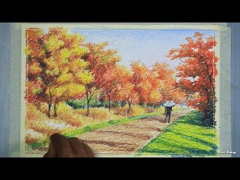 Pin On Oil Pastel Art
