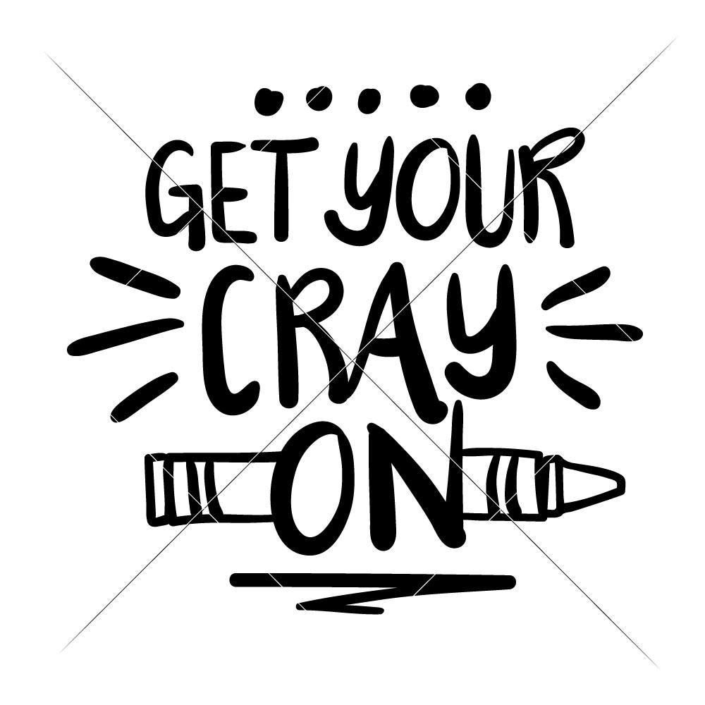 Get your Crayon svg png dxf eps