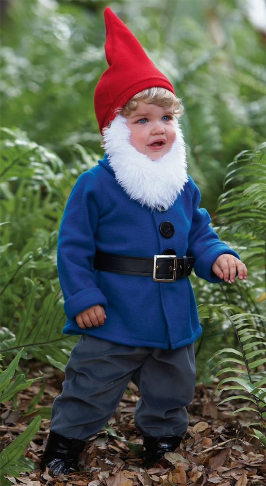 gnome kids costume looks like the travelocity guy - Garden Gnome Costume