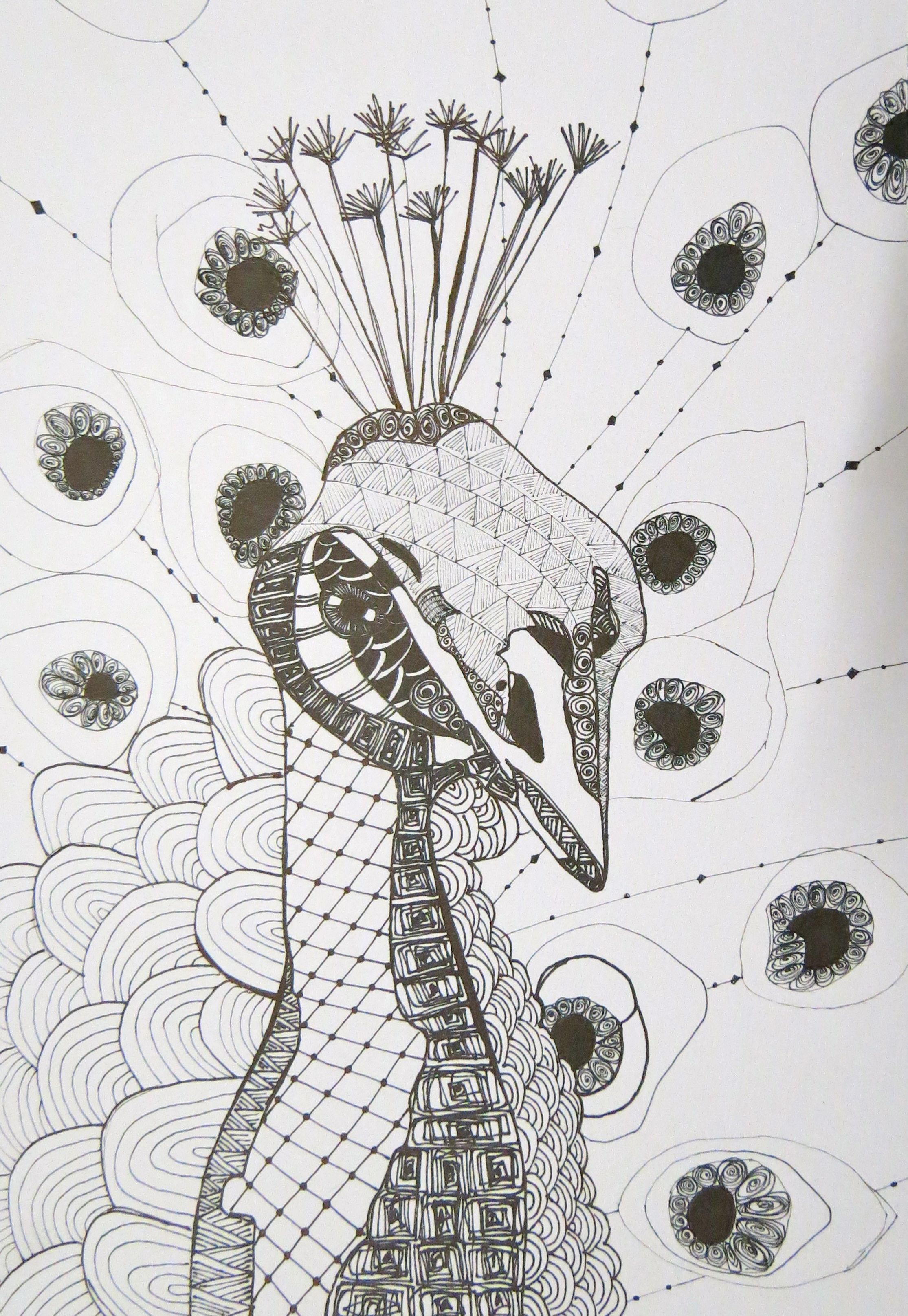Zentangle art by kat gottke | How to draw and paint, templates and ...