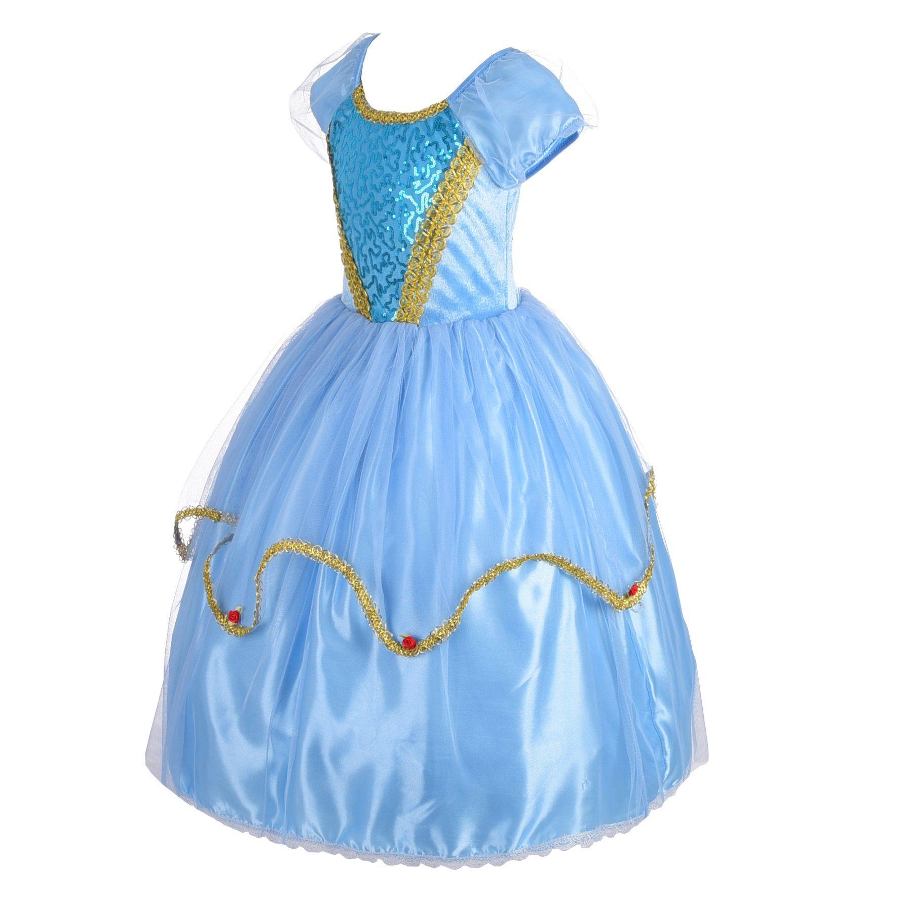 Dressy Daisy Girls Princess Cinderella Costumes Halloween Party Princess Dress Up