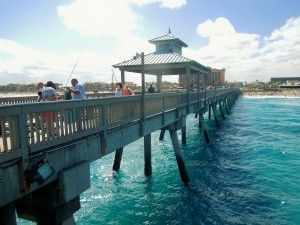 The Delray Beach Fishing Pier Is Common Spot For All Our Residents