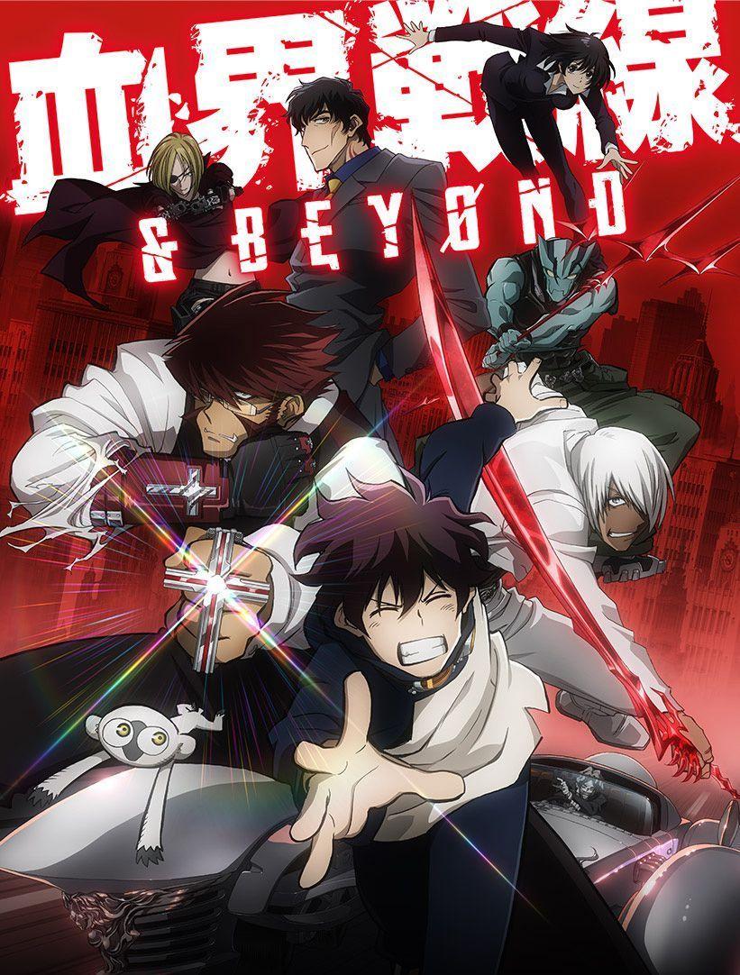 Kekkai Sensen Season 2 Character Designs Revealed Blood