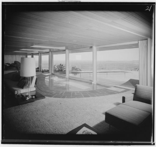 Newton T Bass Residence Featuring Round Interior Exterior Swimming Pool Apple Valley Ca 1960 Courtesy Of H Swimming Pools Residences Interior And Exterior