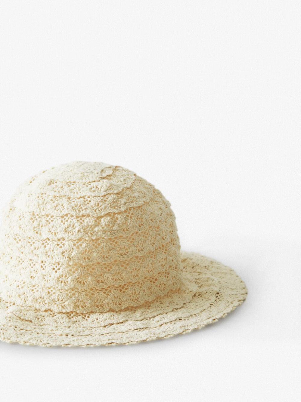 Crochet Bucket Hat Zara United States Crochet Bucket Hat Hats Bucket Hat