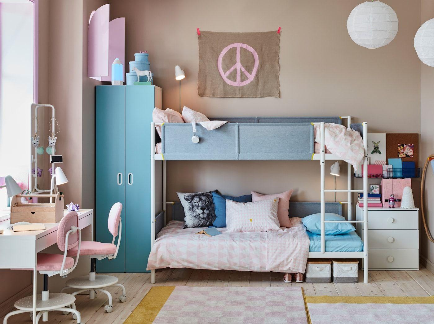 Kleines Kinderzimmer für zwei kreative Geschwister   Chambre ...