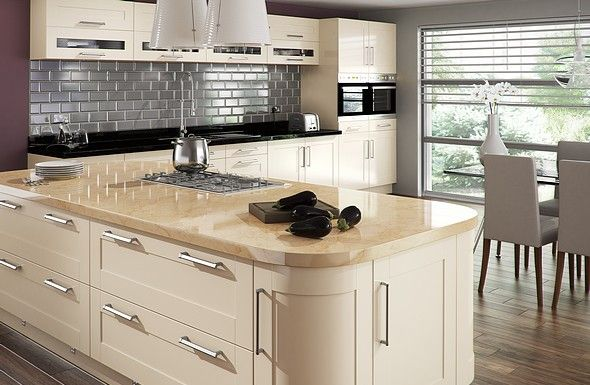 Pictures Of Cream Shaker Kitchens Google Search