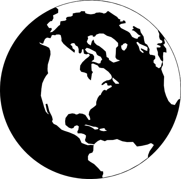 36++ Earth clipart black and white free ideas in 2021