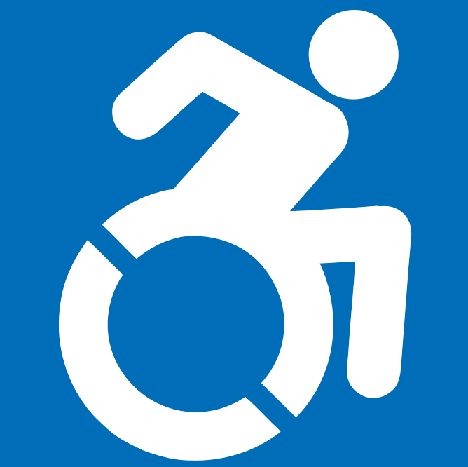 The Handicap Symbol Gets An Update At Least In New York State International Symbols Symbols Wheelchair