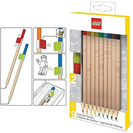 Amazon.com: LEGO Stationery - Colored Pencils (Pack of 9 ...