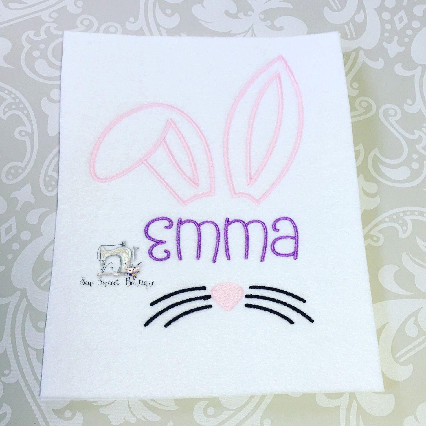 Bunny easter shirt!