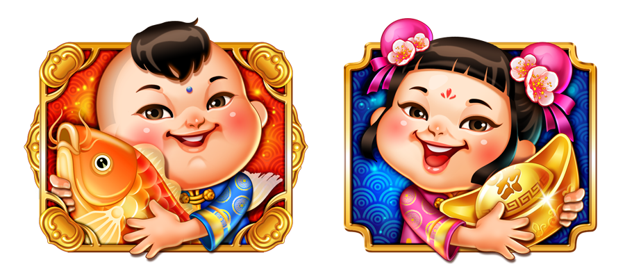 Slot Game Design On Behance Game Design Slots Games Character Illustration