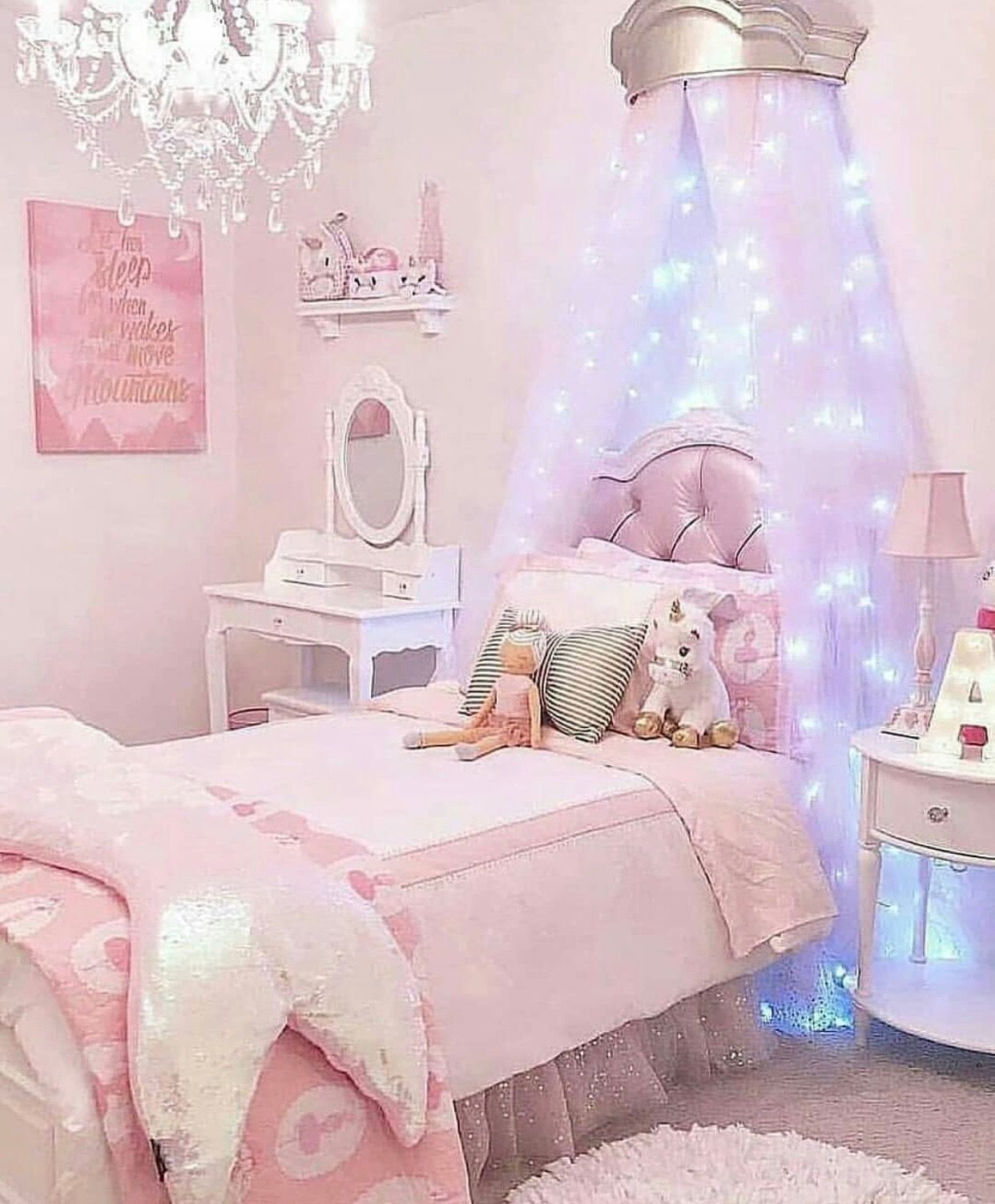 Girl Bedroom Decor Image By Sonia S Boards On Little Girls Room