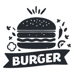 Burger Food Logo Logotype Silhouette Logo Food Burger Burger Recipes