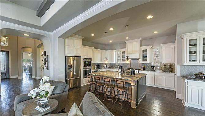 Miramonte By Beazer Homes In Frisco Texas Kitchen Models Dream