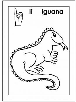 Sign Language Alphabet Free Coloring Pages