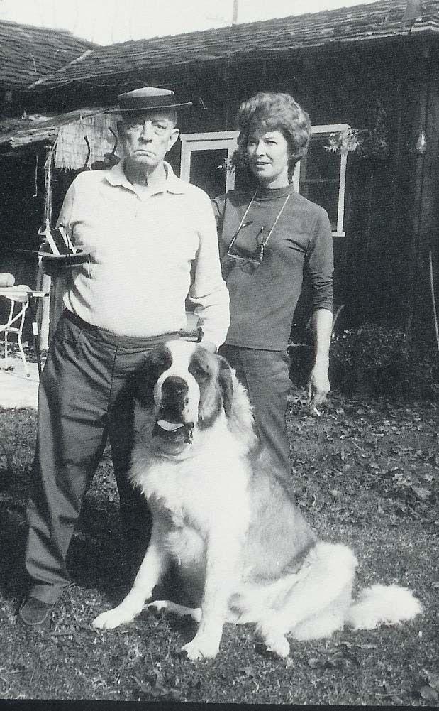 22612 Sylvan St, Woodland Hills, CA 91367 | St bernard dogs, Bernard dog,  Alone in the dark