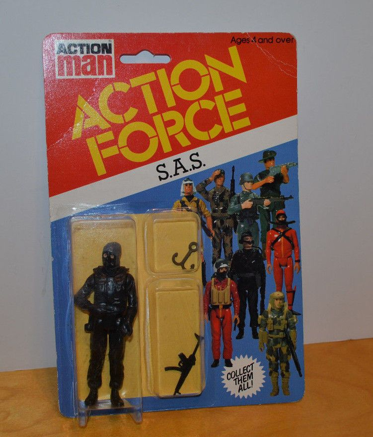 GI JOE ACTION FORCE SAS Figure