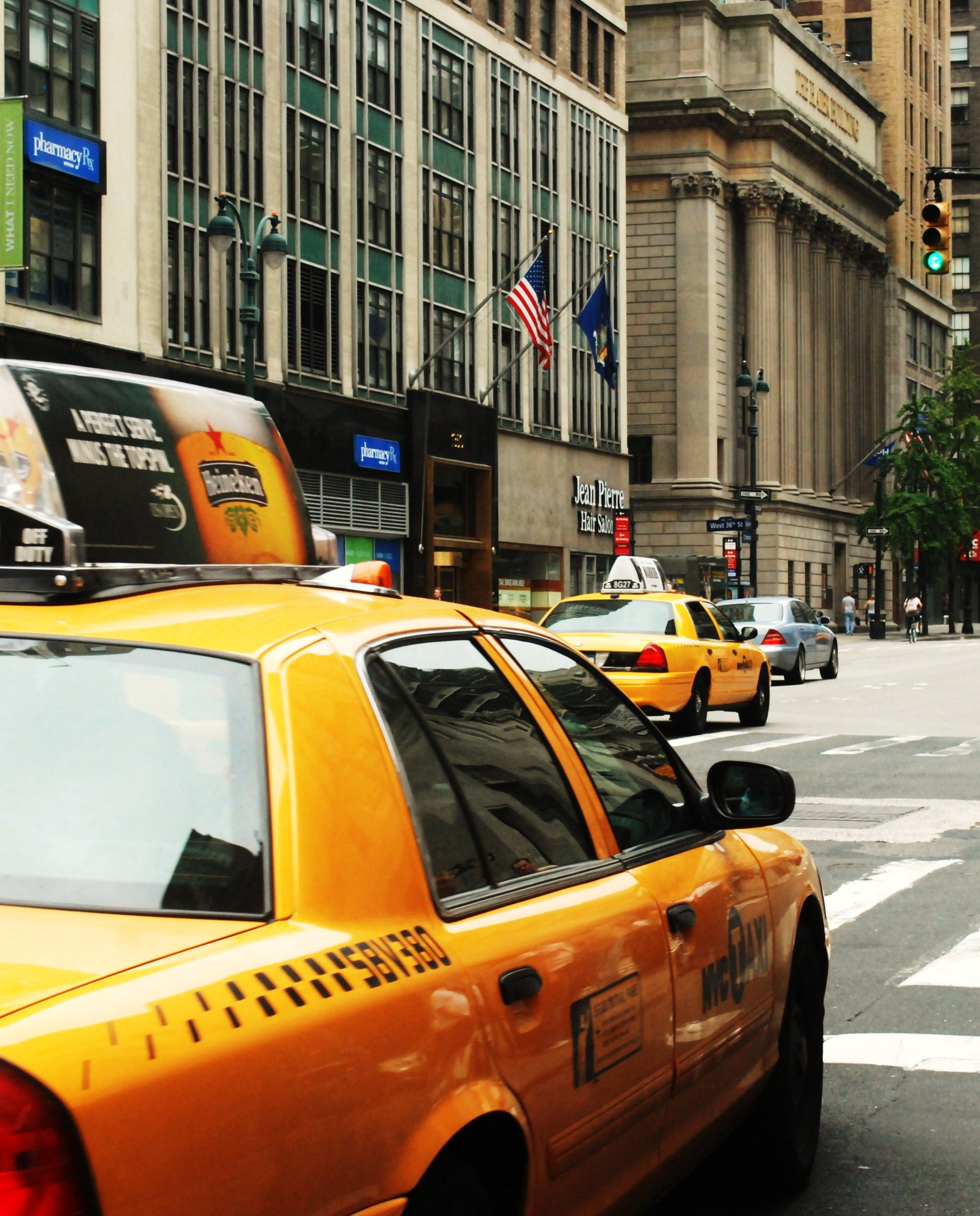 Yellow cabs @ New York