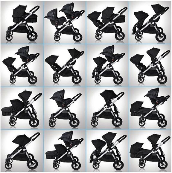 Baby Jogger City Select Pushchair Black